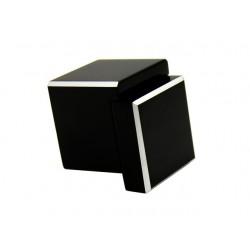 Gałka GAMET GS48 czarny mat z przetarciami