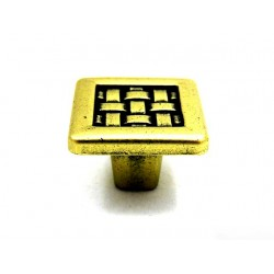 Gałka GAMET GR10 stare złoto