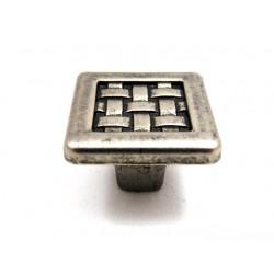 Gałka GAMET GR10 stare srebro
