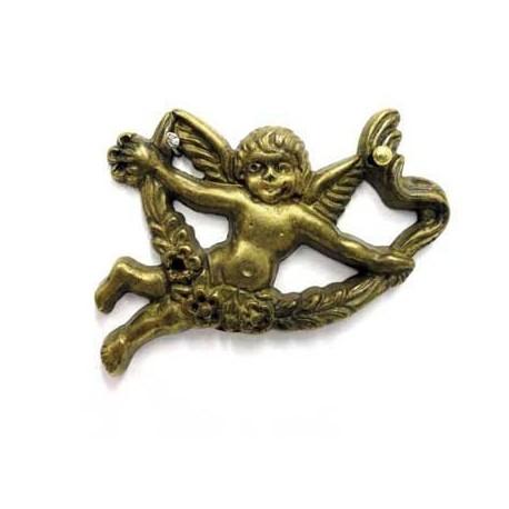 Ornament 45268.055S lewy z mosiądzu