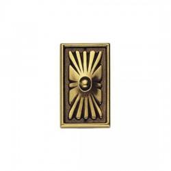 Ornament 45983.06000 z mosiądzu
