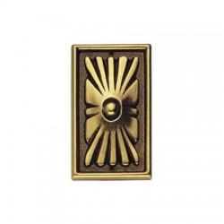 Ornament 45983.07500 z mosiądzu