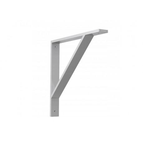 Nowoczesny! Aluminiowy! 3-częściowy kątowy wspornik podpórka do stołu, blatu (500x500mm)