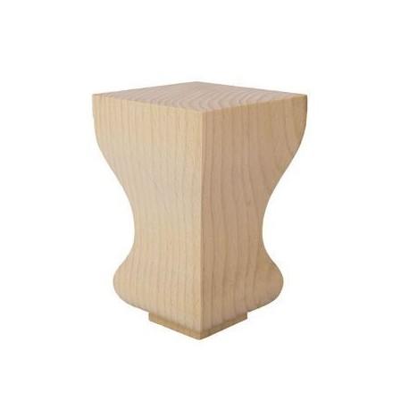 Noga drewniana do mebli WY01052