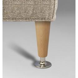 Noga do mebli drewniano - metalowa TOSCO WY02048.CR