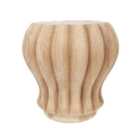 Noga drewniana toczona do mebli WY01029